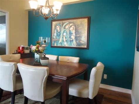 dsc home design   teal accent walls accent