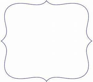 Scalloped Frames Templates Clipart - Free Clipart ...