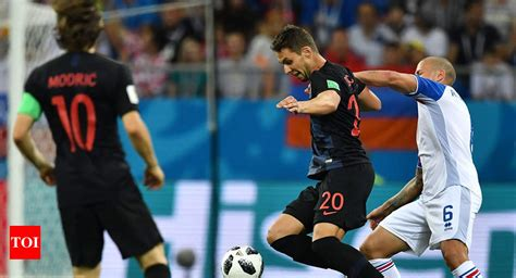 Fifa World Cup Croatia Beat Iceland Top Group