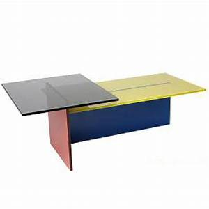 helderr steps coloured glass coffee table With coloured glass coffee table