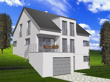 Stadtvilla Mit Garage Im Keller by Nussbaum Partner Nussbaum Einfamilienhaus Mit Garage
