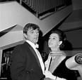 Robert Mitchum his wife Dorothy attend an event in Los ...