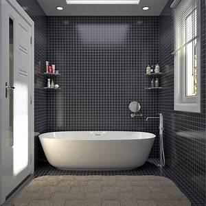 Modele Salle De Bain Carrelage : simple licious modele de salle de bain salle de bain ton ~ Premium-room.com Idées de Décoration