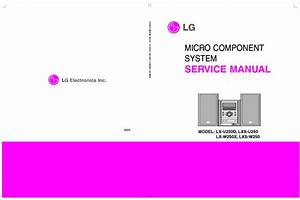 Lg Mcd102 Mcs102f Afn32840818 Spanish Service Manual Free