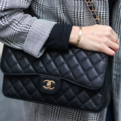 chanel classic flap bag reference guide spotted fashion