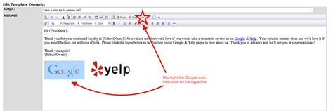 yelp review template marketing automations customize your yelp and refer a friend template zen