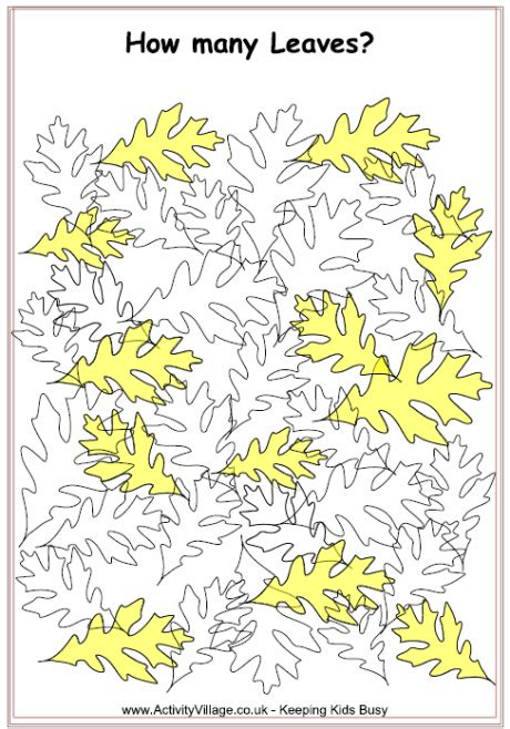 leaves puzzle hard