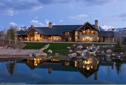 Log Luxury Rich Colorado Expensive Houses Preferred
