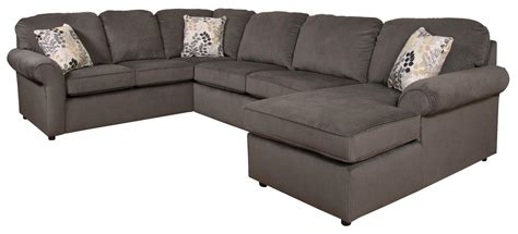 side by side recliners malibu 5 6 seat right side chaise sectional sofa