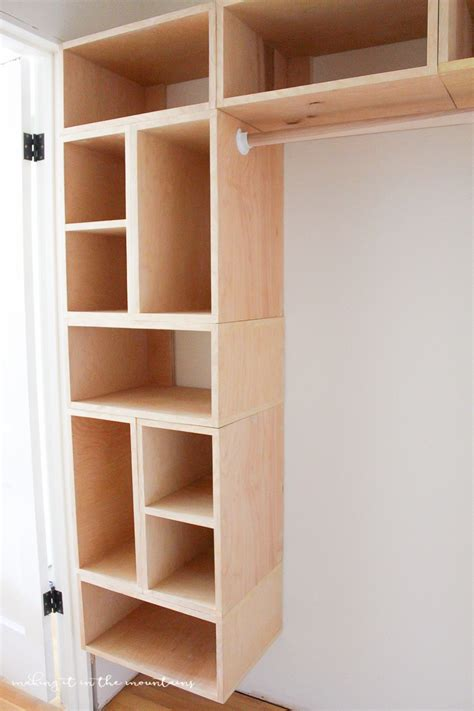 building a closet diy custom closet organizer the brilliant box system