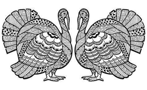 Printable Thanksgiving Mandalas