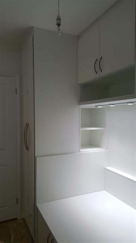 white cabin bed  storage