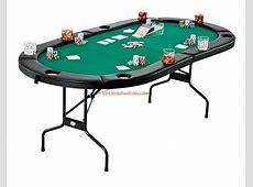 Folding Texas Hold'Em Table , Poker, Blackjack and Crap 3
