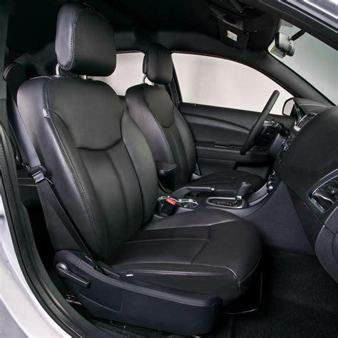 Katzkins Leather Upholstery by Black Katzkin Leather Interior Seat Cover Fits 2011 2012