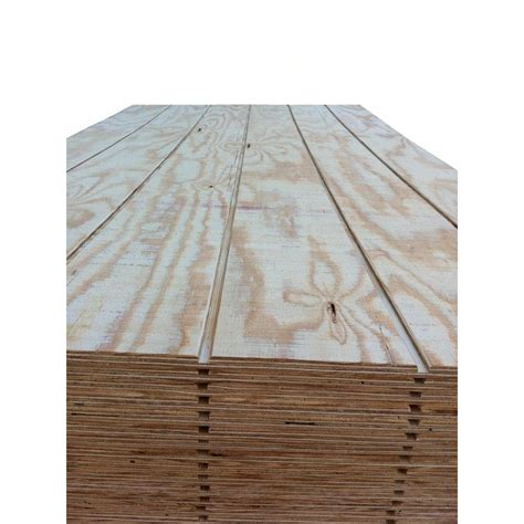Shiplap Prices Lowes by Shop Pine Siding Shiplap Plywood Common 5 8 X 4 X 8
