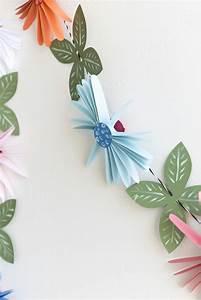 Zimmer Deko Diy : zimmer deko diy frische fr hlingsdeko aus papier basteln ~ Eleganceandgraceweddings.com Haus und Dekorationen