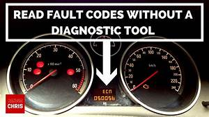 How To Read Fault Codes Without A Diagnostic Tool