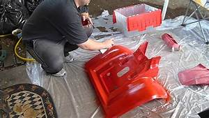 Painting Atv Plastics Some More