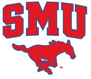 SMU Basketball Logo