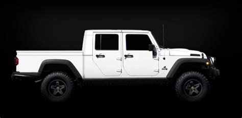 new 4 door jeep truck 2011 jeep wrangler aev brute double cab news and