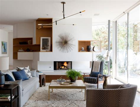 houzz  earthy decor adds warmth   modern home
