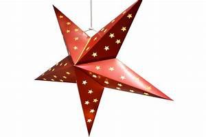 Stern Beleuchtet Weihnachten : papier weihnachtsstern 60 cm rot mit 10 led lichterkette fenster weihnachten neu ebay ~ Markanthonyermac.com Haus und Dekorationen