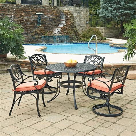 hton bay santa 5 wicker outdoor dining set