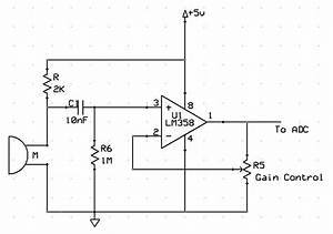 Echo Mic Circuit Diagrams