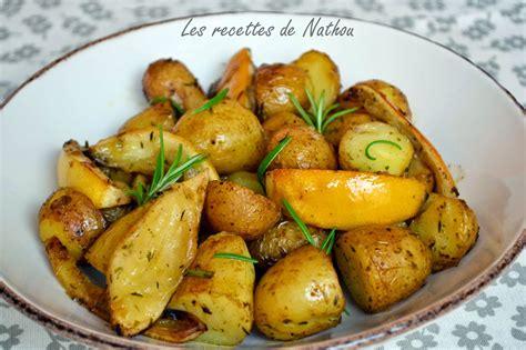 comment cuisiner les pommes de terre de noirmoutier pommes de terre au four citron et romarin par ma cuisine au fil de mes idées