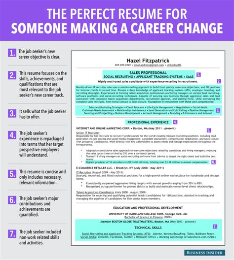 21610 career change resume ideal resume for someone a career change business