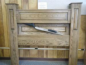 Gun Bed Secret Compartment Headboard - Always Be Ready Gif