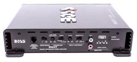 New Boss Audio R1100m 1100w Riot Series Monoblock Class A