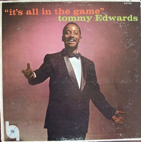 Tommy Edwards  It's All In The Game  Releases Discogs