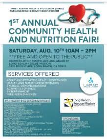 Community Health Fair Flyer