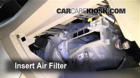 auto air conditioning repair 2007 toyota rav4 seat position control cabin filter replacement toyota rav4 2006 2012 2007 toyota rav4 2 4l 4 cyl