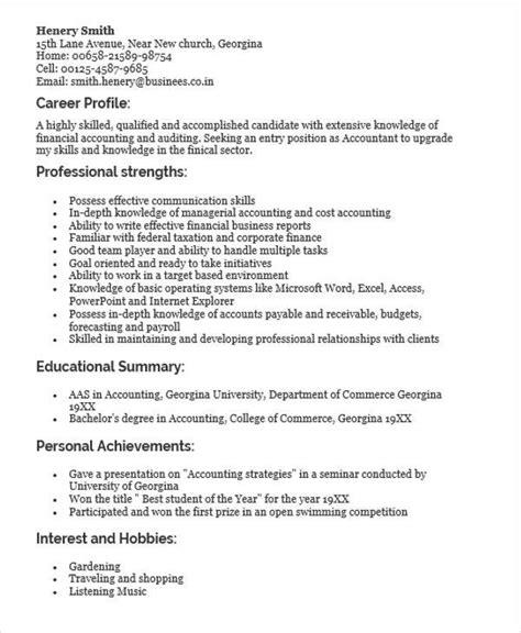 curriculum vitae  fresh graduate sample