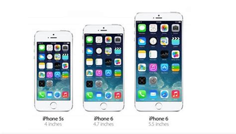 how big is iphone 5s iphone 6 new amazing features and specifications