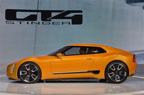 Kia Gt4 Stinger Concept Introduced In Detroit Carscoza