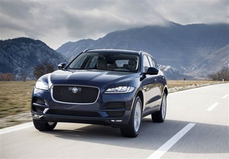 My2018 Jaguar Fpace Gets New Twinturbo 20 Diesel, Rwd