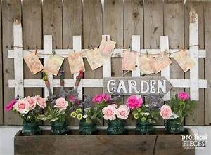 Garden Decor from Curbside Picket Fence - Prodigal Pieces