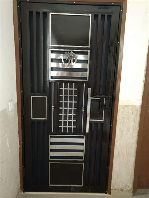 stainless steel door manufacturer  noida ss main gate
