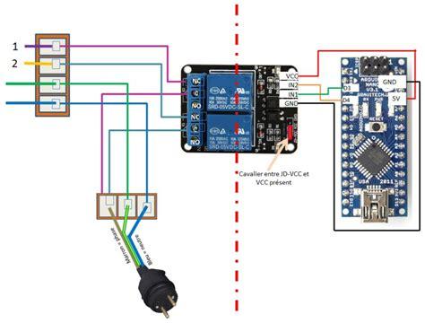 commander des relais  avec arduino nano  bluetooth