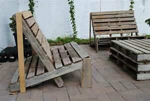 Fauteuil En Palette Facile : banc de jardin en palettes un choix respectueux de l 39 environnement ~ Melissatoandfro.com Idées de Décoration