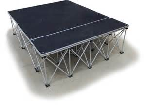 rent a party tent collapsible portable presentation platform carpeted deck