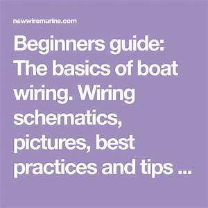How To Wire A Boat