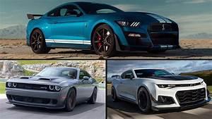 Ford Mustang GT500 2020 vs. Camaro ZL1 vs. Challenger Hellcat: Cómo se ven en papel - Motor ...