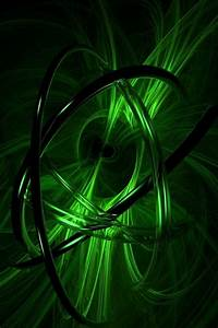 Hd Green 3d Design Iphone 4 Wallpapers Backgrounds