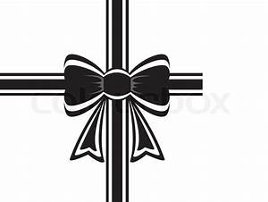 12 Bows White Ribbon Vectors Images - Black and White Bow ...