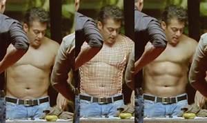 Salman vs SRK: Salman Khan's six-pack abs fake, Shah Rukh ...