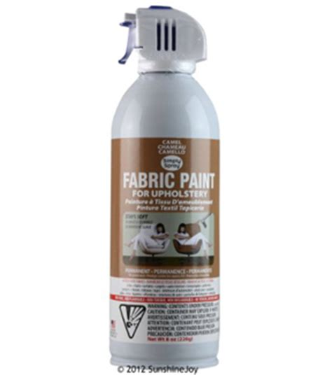 Upholstery Fabric Paint Walmart by Upholstery Spray Fabric Paint 8oz Camel At Joann
